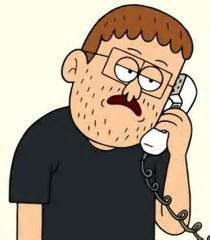Clerks Phone voice of clerk on phone regular show the voice