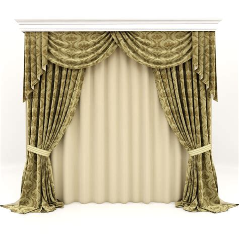 3d curtains classic curtains 3d max