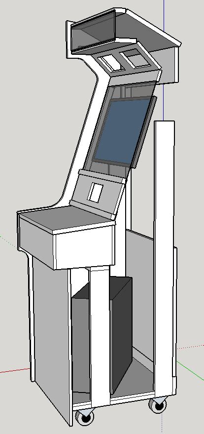 Pacman Cabinet Plans by Arcade Cabinet Update 12 2014 Rxbrad