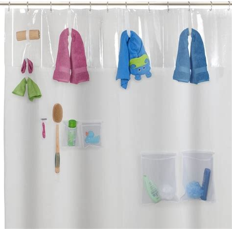 baby bathroom shower curtains storage view peva shower curtain contemporary shower