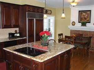 Dark Wood Cabinets With Black Appliances Dark Wood W Black Appliances Kitchen Ideas Pinterest