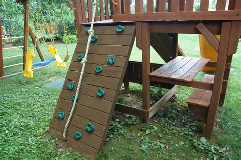 swing set stain staining swing set with thompsons waterseal wood stain 13