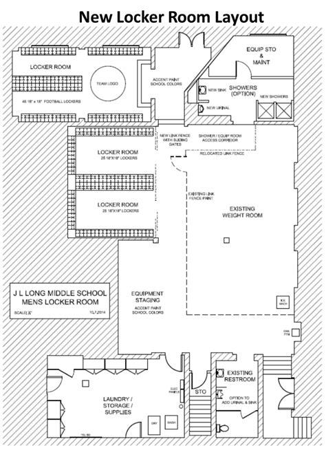 locker room design layout fundraiser by robert blumenstock locker room renovation