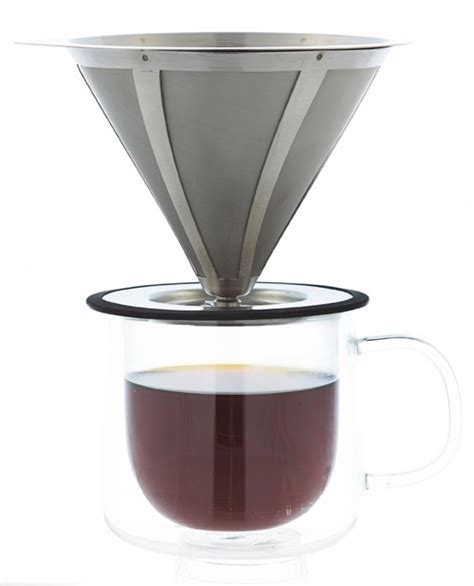 Coffee Dripper which paperless no filter pour coffee dripper is