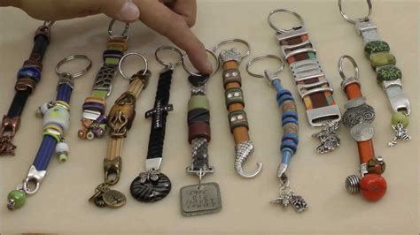 how to make keychains with antelope how to make cool leather keychains