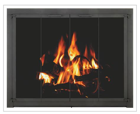 Gas Fireplace Replacement Doors by Gas Log Glass Door Country Stove Patio Spa Country Stove