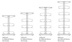 Double Sided Bookshelf Shelving Dimensions Amp Loads Fry Library Amp Supplies