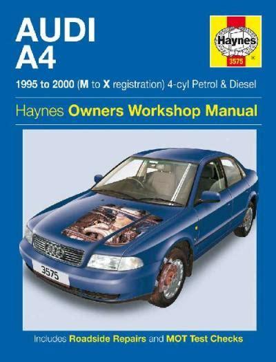 books about how cars work 2000 audi a4 instrument cluster audi a4 petrol diesel 1995 2000 haynes service repair manual uk sagin workshop car manuals
