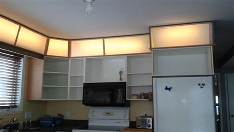 lights above kitchen cabinets lighting above kitchen cabinets