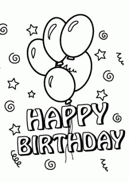 happy birthday sofia coloring pages birthday coloring pages for kids birthday party coloring