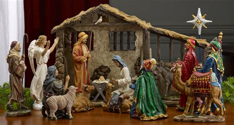 Collectibles nativity sets amp gifts 12 75 quot christmas nativity 11