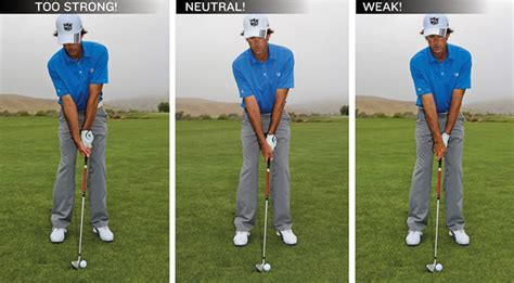 strong golf grip swing learn like a junior golf tips magazine