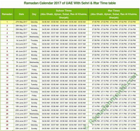 ramadan 2018 uae ramadan 2018 uae calendar for dubai abdu dhabi sharjah