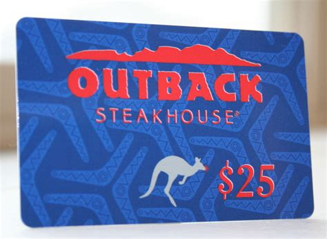 Outback Gift Card Also Good At - its contest time i am baker