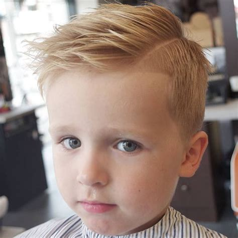 little boys with hard part 50 cute toddler boy haircuts your kids will love
