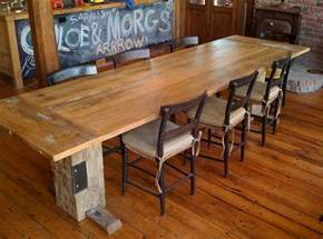 how to make reclaimed wood dining room table home interiors