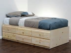 xl bed how to build a captains bed captains bed