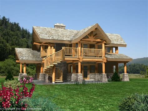 astoria log home design by the log connection powderhorn log home design by the log connection