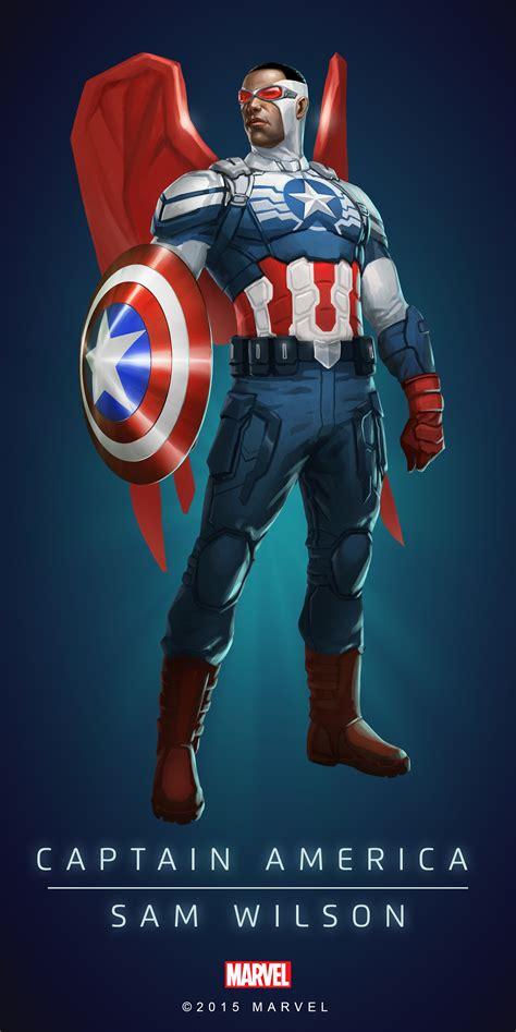 raglan captain america poster 02 captain america sam wilson poster 01 d3go marvel posters