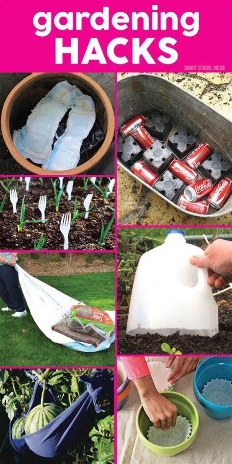 diy hacks gardening hacks