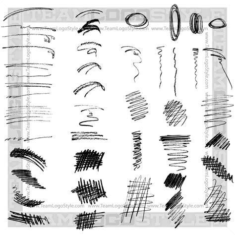 vector pencil design elements pencil sketch elements vector elements vector design