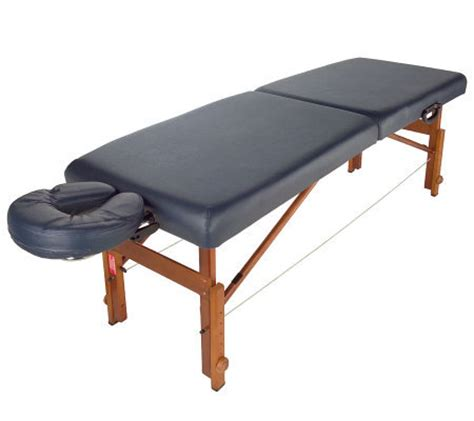 lifegear travel lite portable massage table with video