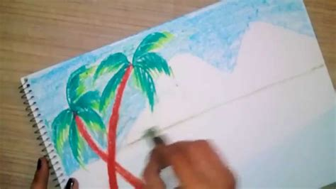 sketchbook versi 4 0 1 how to draw and color an easy scenery for