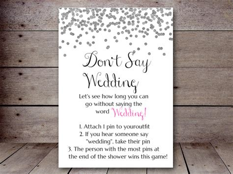 dont  wedding printabell create