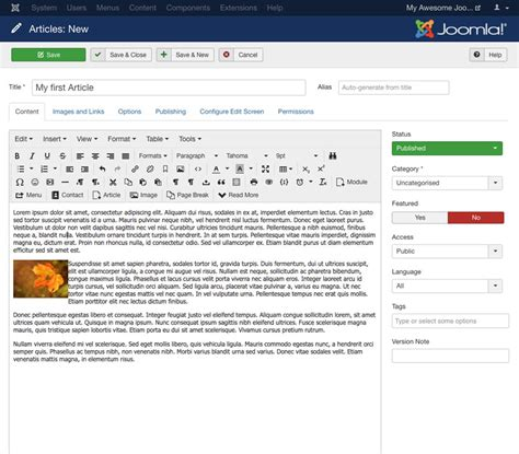 video tutorial for joomla joomla tutorial for beginners create a website with joomla