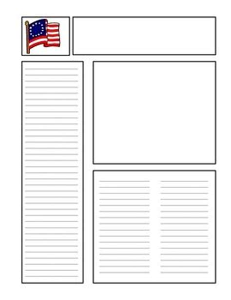 blank newspaper template revolutions american revolution and newspaper on