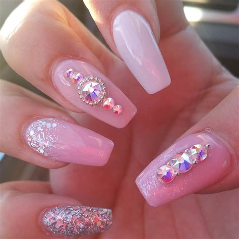 Pink Nail by 23 Pink White Nail Designs Ideas Design Trends