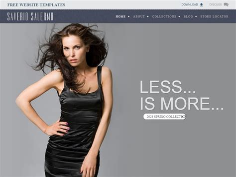 High Fashion Website Templates Studiostoday High Fashion Website Templates