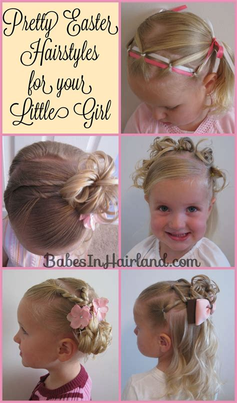 wedding hairstyles for toddlers 5 pretty easter hairstyles in hairland