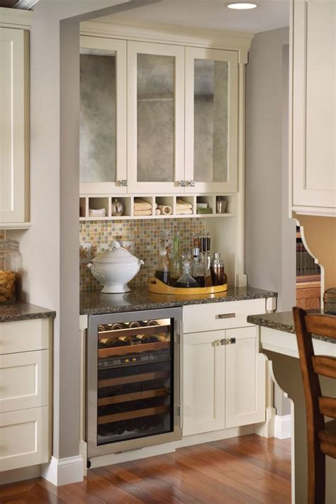 Mini Pantry by Separating The Family Room From The Kitchen Is This Great