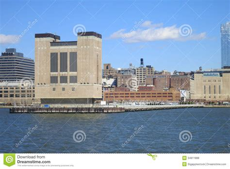 lincoln new jersey lincoln tunnel ventilation tower royalty free stock photos