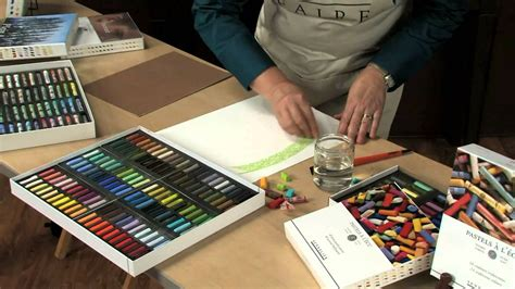 Painting With Oil Pastels Youtube L