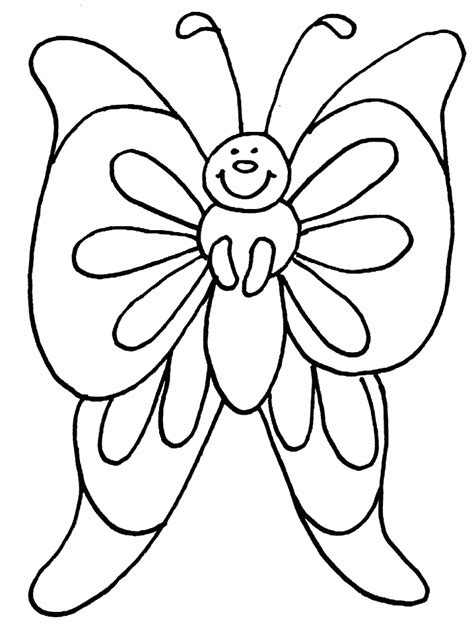 Coloring Page Butterfly by Butterflies Coloring Pages Coloring Pages To Print