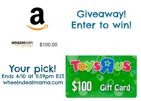 Giveaway Picker Wheel - spring giveaway enter to win 100 to amazon or toys r us your pick wheel n deal mama
