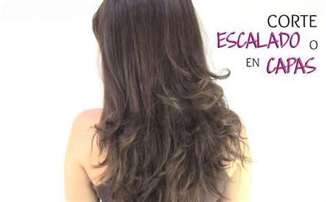 como cortarse el cabello en capas largas como cortar el cabello en capas peinados