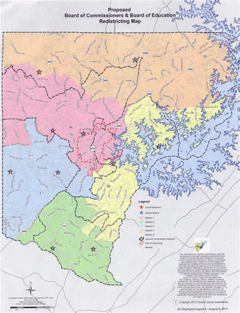 Property Tax Records Forsyth County Ga Forsyth County School District Map My
