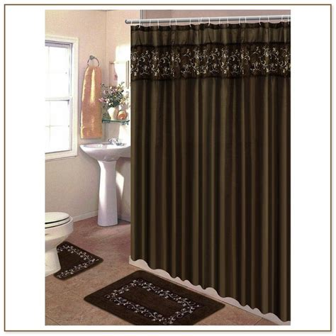 brown and pink curtains pink and brown shower curtain