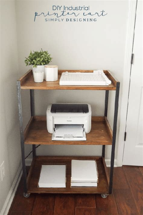 printer stand ideas spring like projects share crafts diy projects recipes