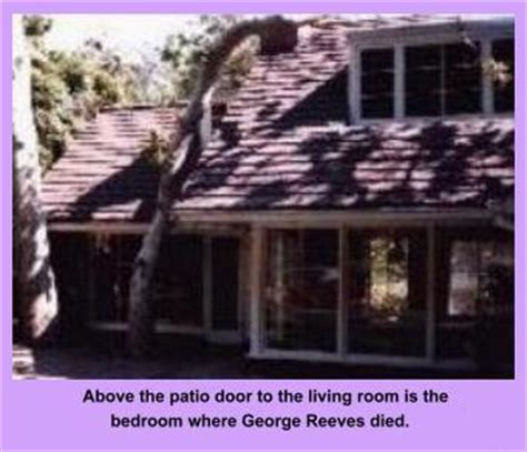 george reeves house celebrity haunts