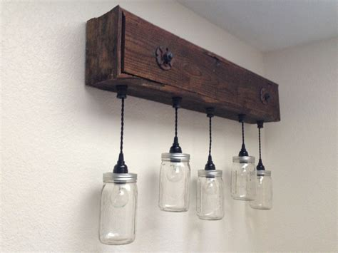 Rustic Bathroom Light Fixtures Rustic Vanity Light