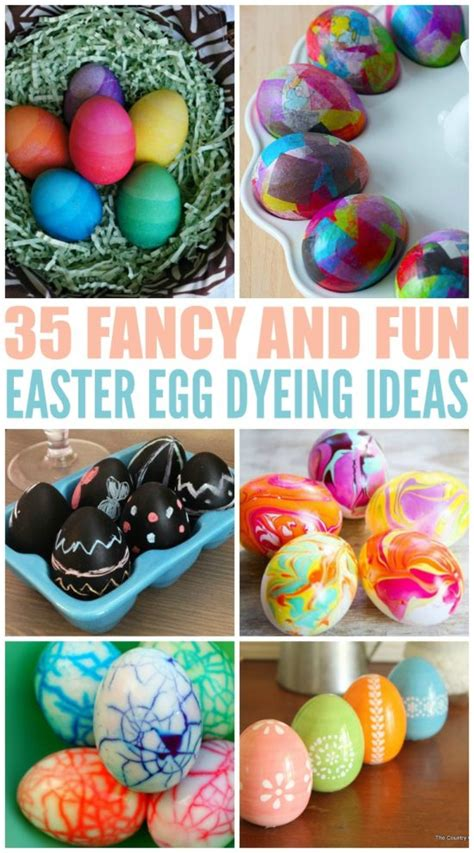 easter egg dye ideas 35 fancy and fun easter egg dyeing ideas