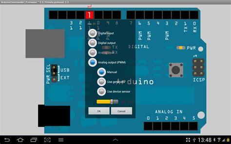 arduino simulator apk arduinocommander 4 2 2 apk android tools apps