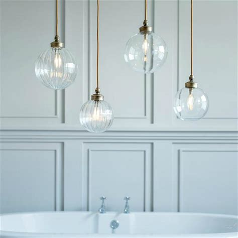 hanging bathroom lights bathroom pendant lights mad about the house