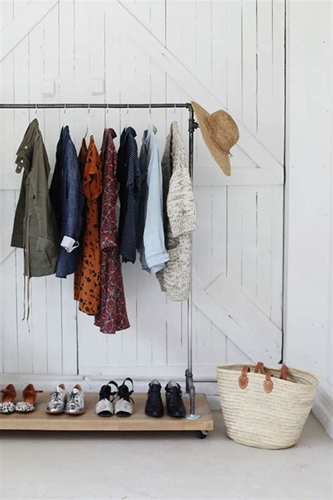 Clothes Rack Storage Solutions by 15 Clever Storage Solutions Design Sponge