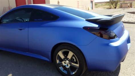 how make cars 2008 pontiac g6 auto manual 2008 pontiac g6 gxp matte metallic brilliant blue carbon fiber vinyl wrap youtube