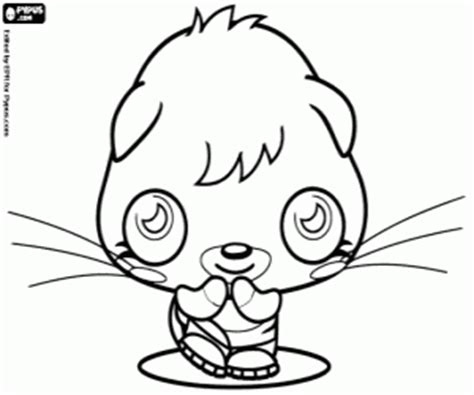 moshi monsters coloring pages poppet moshi monsters coloring pages printable games